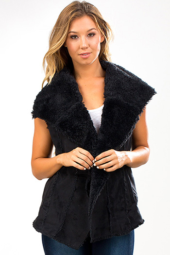 Junior Faux Sheepskin Vest