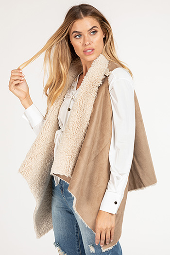 Junior Faux Fur Shearling Vest