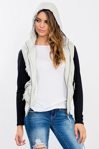 Junior Faux Leather Vest