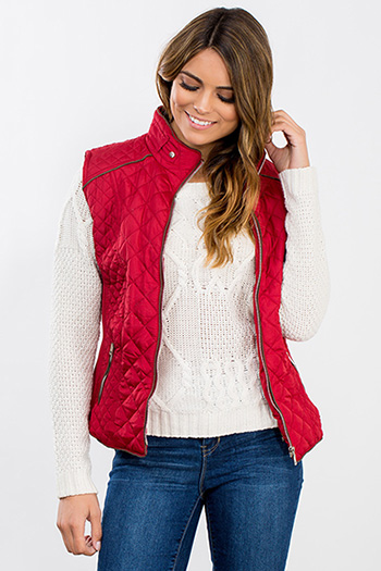Junior Zip Quilted Puffer Vest
