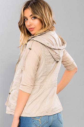 Junior Cotton Vest with Removable Hood