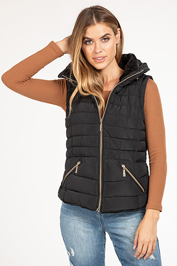Junior Vest with Hidden Hood