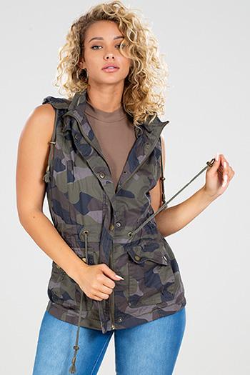 Junior Jersey Cotton Twill Lined Vest