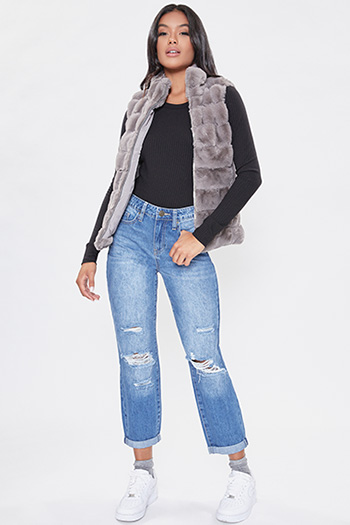 Junior Faux Fur Vest