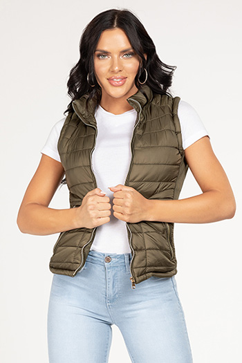 Junior Vest with Detachable Hoodie
