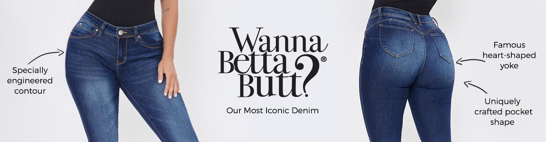 YMI Womens Better Butt Jeans