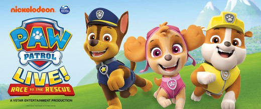 Paw Patrol Live – CANCELLED