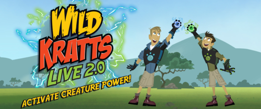Wild Kratts Live! Activate Creature Power