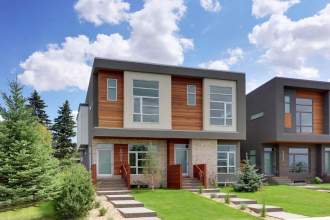 Contemporary Semi-Detached Altadore - 5028