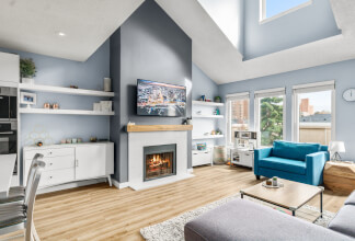 Impeccably-Renovated Two Bedroom Penthouse Loft With 16-ft Ceilings
