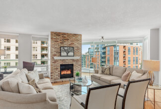Spectacular 2100+ sqft Two Bedroom & Den Suite at The Lookout in Eau Claire