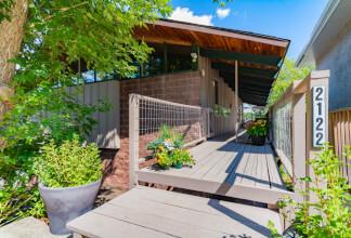 Mid Century Modern Treehouse