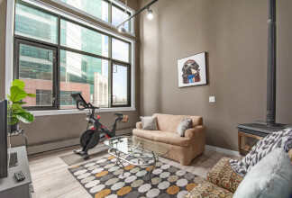 "Fall In Love With The Soaring 18ft Ceilings And Exposed Duct Work In This ""Hard Loft"" At Imperial Lofts"