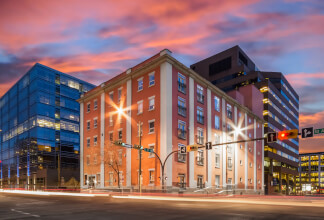 Sought After Double Live/Work Unit at The Hudson Lofts with 3 Parking Stalls