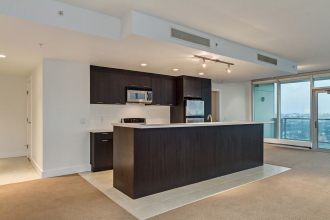 Open Layout and Floor to Ceiling Windows