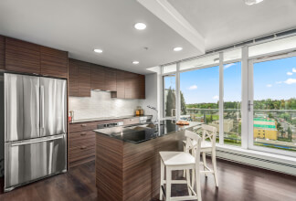 Remarkable Two Bed Two Bath Corner Unit with Unobstructed Southwest Views