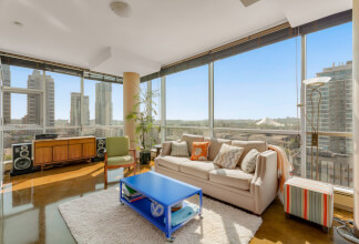 South Facing Panoramic Views With Over 50 Feet of Windows