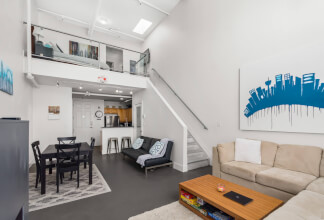 Stylish Two Storey Loft at Imperial Lofts
