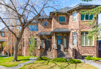 Charming Brick Brownstone With Quick Access to the Bow River Paths
