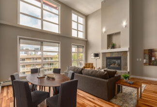 Two Storey Penthouse Loft at Xolo in Mission