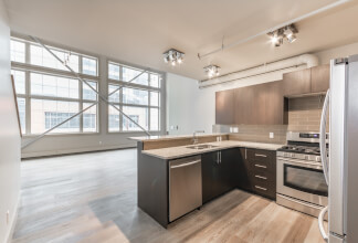 RENTAL: Two Bedroom, 1.5 bathroom character loft in Imperial Lofts