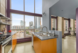 WANNA BUY A LOFT? This rare two-storey corner unit is now available at the Orange Lofts
