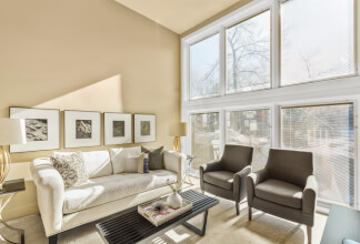 Walk to Work with this Two Bedroom Split Level Residence in Crescent Heights