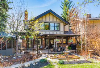 A truly stunning residence located on one of the most coveted streets in Mount Royal with parking for 4