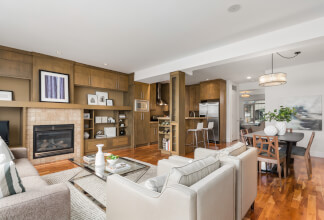 Remarkable Semi-Detached Home with Full Walkout Basement in Marda Loop