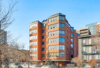 Two Bedroom With Downtown Views in The Mariposa in The Beltline