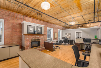 Rare Live/Work Northwest Corner Suite at The Hudson Lofts
