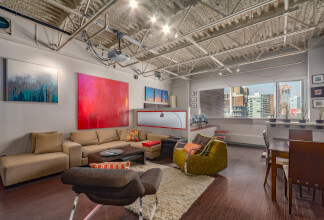Fully Renovated Industrial-Style Loft with Downtown Views on 17th Avenue