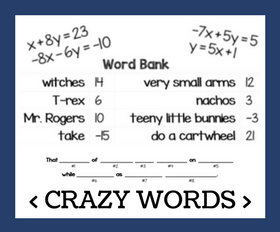 Cd crazy words   system of equations with substitution %281%29