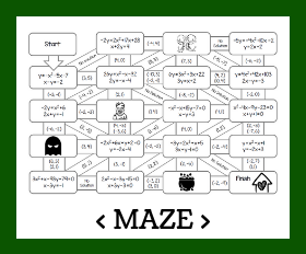 Maze   linear quadratic systems