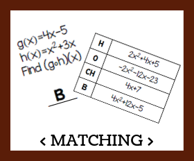 Matching   composing functions