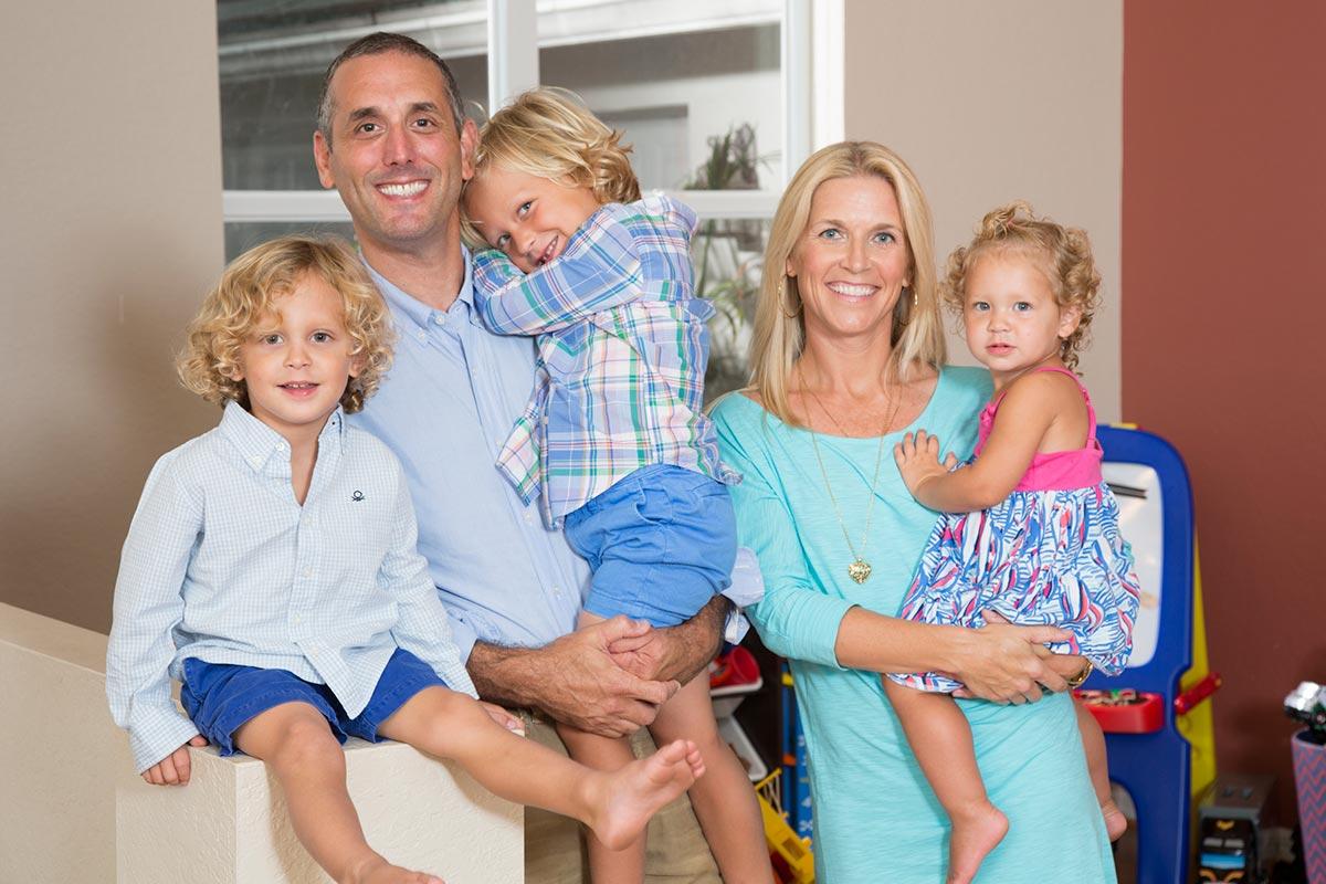 Photo of Jonathan Chane and family