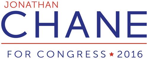 Jonathan Chane for Congress logo