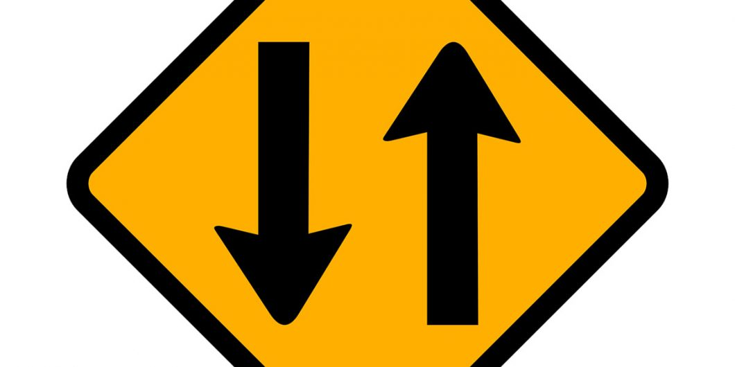 Two Way Sign Image