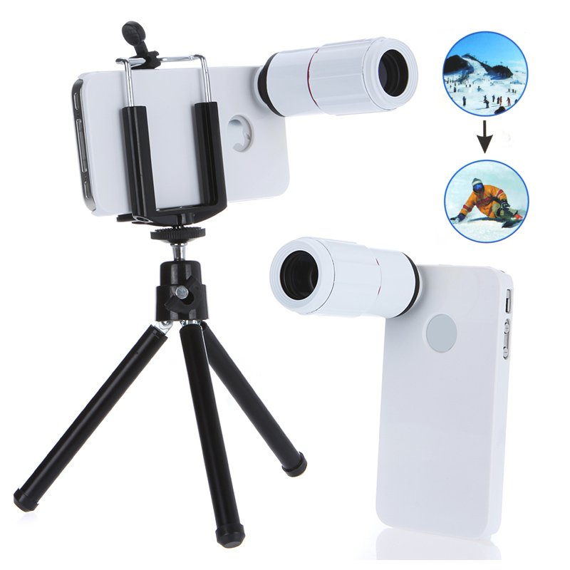 Phone Telescope Optical Camera Lens Set For iPhone 4/4s