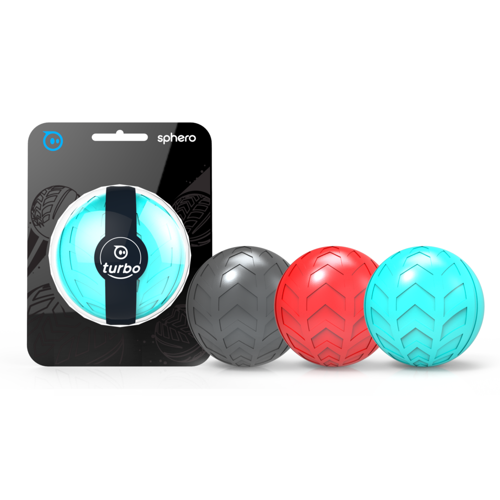 <p> <ul> 	<li>Shields your Sphero against the elements</li> 	<li>Provides unbeatable traction for all types of terrain</li> 	<li>Available in three unique colors: Black, Aqua and Red</li> </ul> </p>