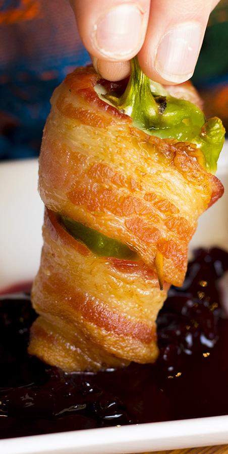 bacon wrapped jalapeno