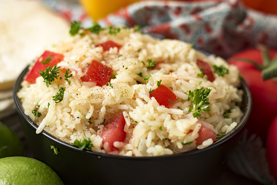 garlic mexican rice