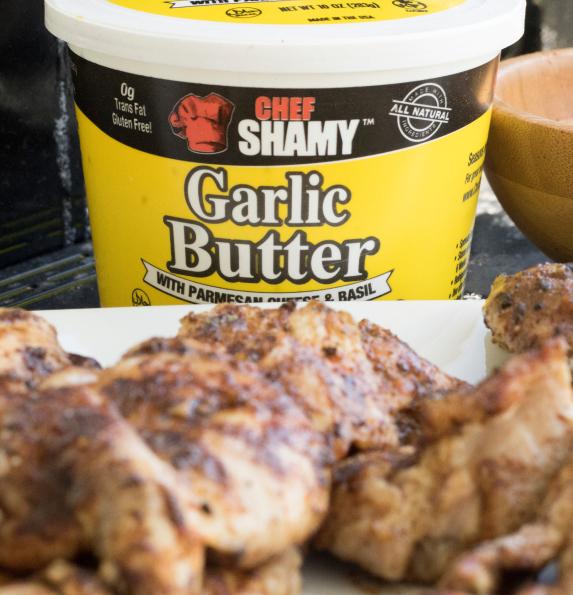 chef shamy garlic butter for chicken
