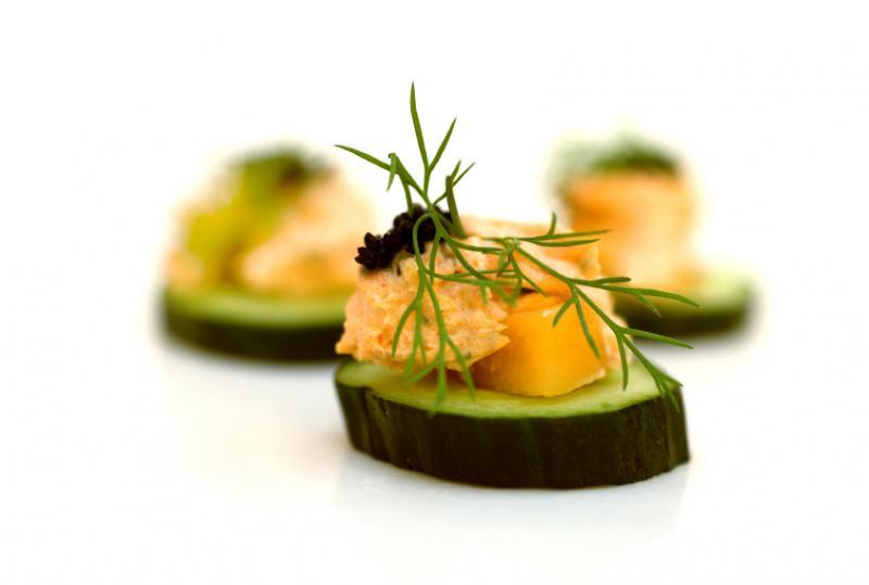 Vegetarian Canapés