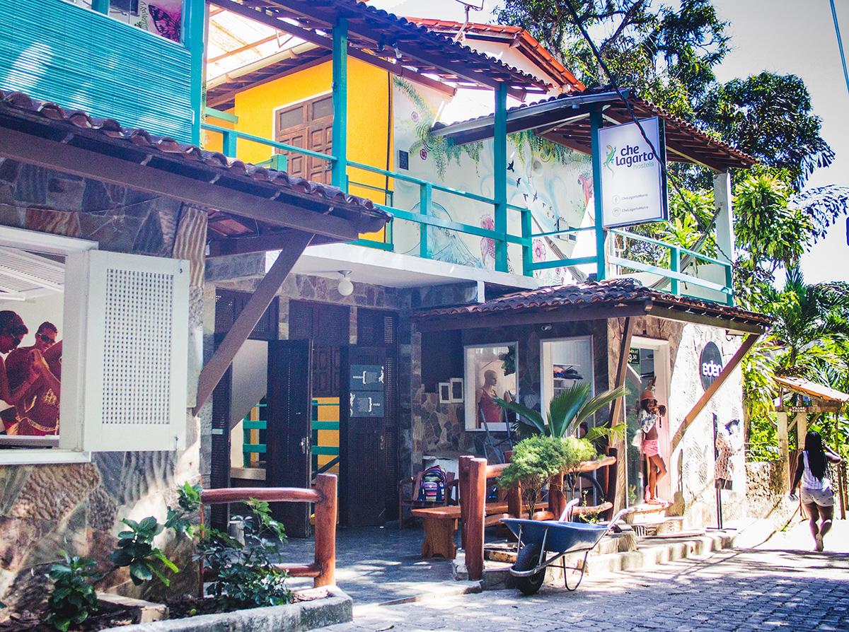 Hostels em Morro São Paulo