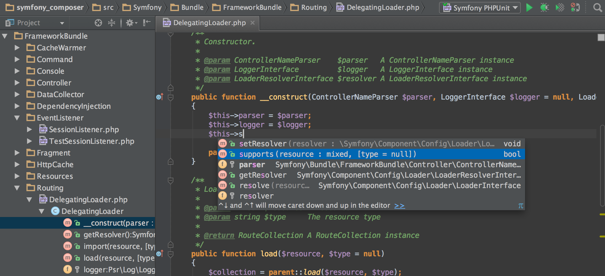 PHPStorm Marketing Screenshot