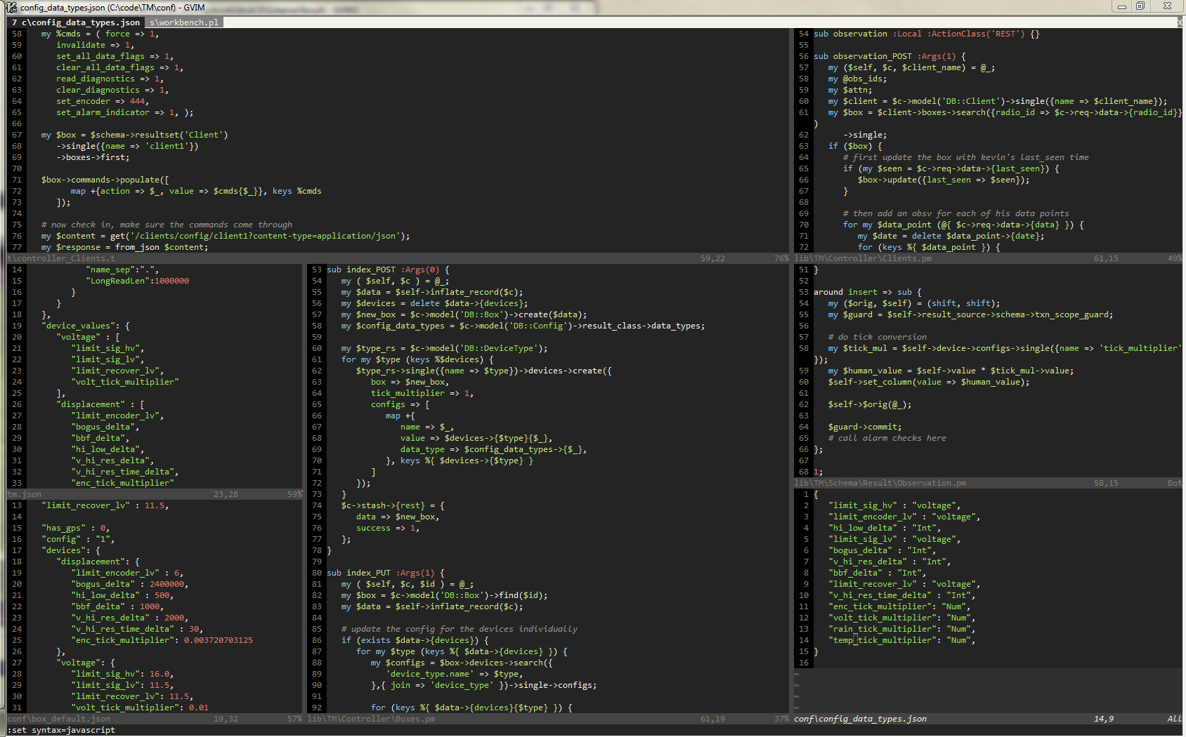 VIM User Screenshot