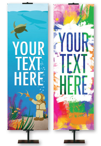 Custom Printed VBS and Children's Ministry Banners