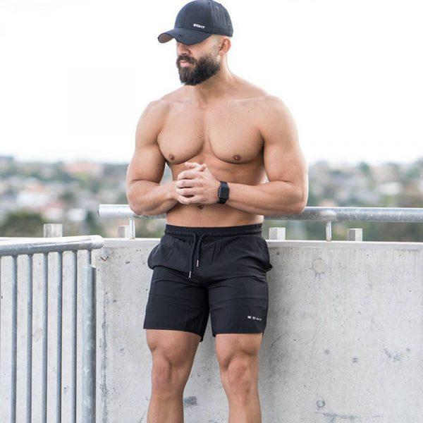 Echt Men's Fitness Short 1
