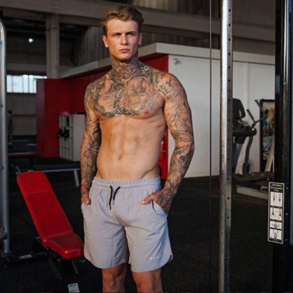 Echt Men's Fitness Short 3